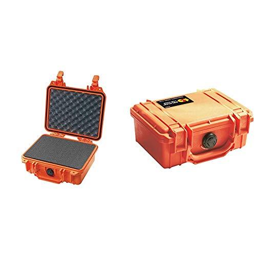 Pelican 1200 Camera Case with Foam (Orange) & 1120 Case with Foam (Orange)