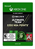 NBA LIVE 19: NBA UT 2200 Points Pack - Xbox One [Digital Code]