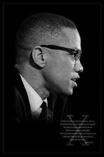 1art1 Empire 291936 Malcolm X - Brotherhood - Plakat Druck Poster Druck - 61 x 91.5 cm