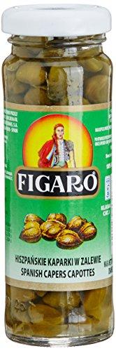 Figaro Capers Capottes in Vinegar, 100g