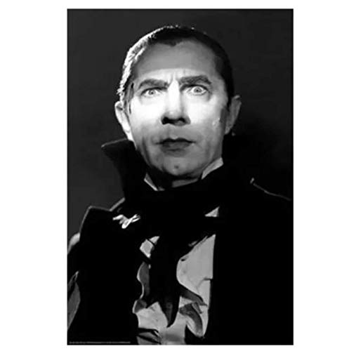 Swarouskll Bela Lugosi - Drácula carteles e impresiones lienzo arte de pared cuadros de pintura para sala de estar decoración del hogar regalo -50x70cm sin marco 1 pieza