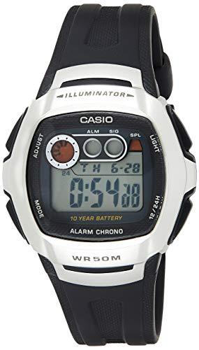 Casio 123329 Reloj de Pulsera Hombre, Resina, Plata, Talla única