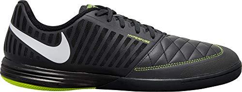 Nike Lunargato II, Zapatillas de fútbol Hombre, 017 Dk Smoke Grey WH, 45.5 EU