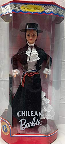 MATTEL BARBIE poupée brune POUPEE DU MONDE CHILEAN CHILI - dolls of the world collection 1997