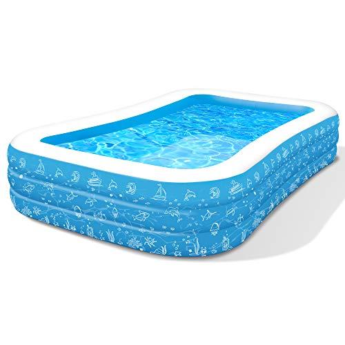 Paddling Pools for kids, Paddling Pool Large 300*183*56cm (118