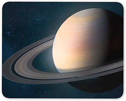 Mauspad, Saturn Planet Mauspad Pad - Weltraumuniversum Weihnachten Büro Computer Geschenk