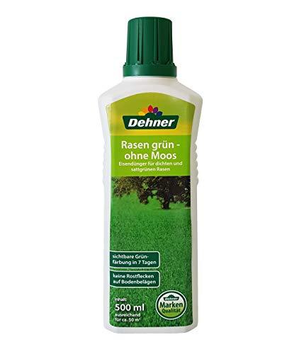 Dehner Rasen grün - ohne Moos, Eisendünger, 500 ml, für ca. 50 qm