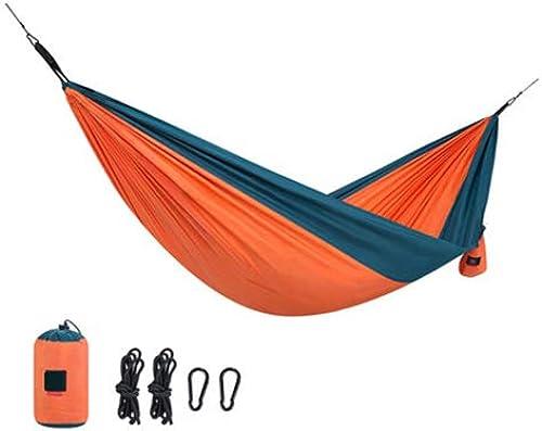 TxDike Lan Hamac De Camping portable, Hamac De Camping Hamac De Camping portable Double, Hamac, Hamac De Camping Double,doubleOrange