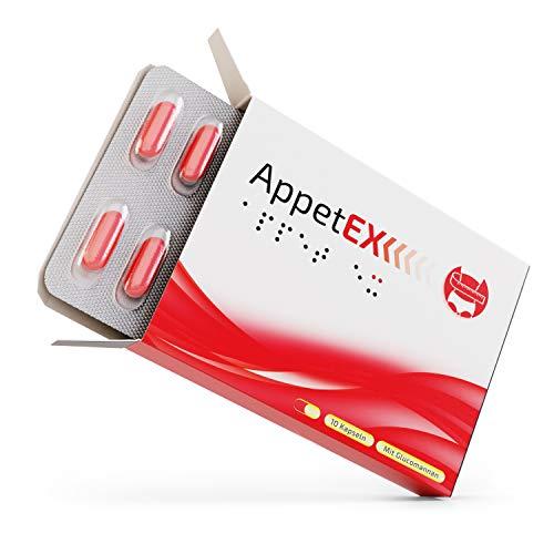 AppetEx | Mit Glucomannan aus der Konjak Wurzel | 10 Kapseln | Made in Germany