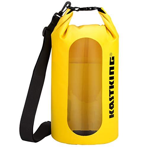 KastKing Floating Waterproof Dry Bag, Yellow, 30L