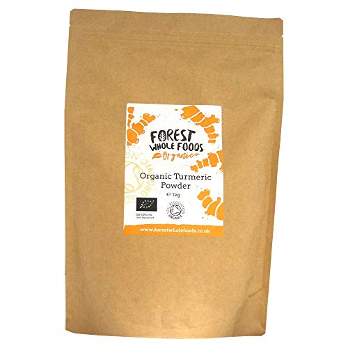 Forest Whole Foods Organic Turmeric Powder (1kg)