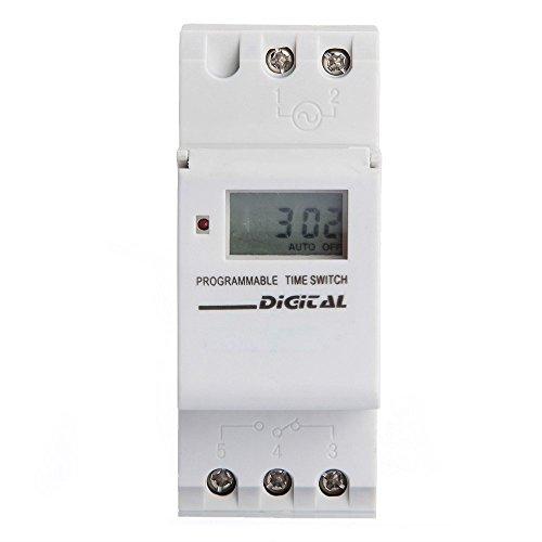 TOOGOOR 16A LCD Programador Tiempo Modular Temporizador