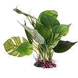Planta Artificial Ornamentos del Acuario Acuático del Acuario De Agua De La Hierba Verde Paisaje De La Decoración De La Decoración