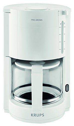 Krups F30901 Libera installazione Macchina da caffè con filtro 10tazze Bianco macchina per caffè
