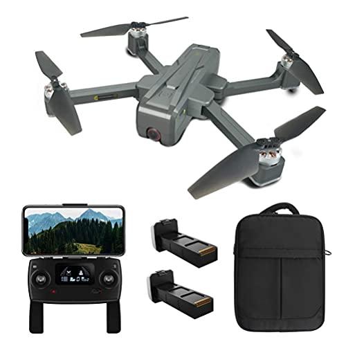 DCLINA Drone GPS 5G WiFi FPV Quadcopter, Drone con videocamera HD 4K, Droni per Adulti, Motore Brushless, Recinzione elettrica, Posizionamento, Distanza Telecomando 1600M