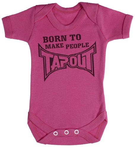TRS - Born to Make People Tap Out Body bébé - Cadeaux de bébé Naissance Rose