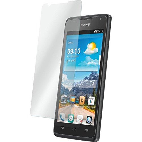 PhoneNatic 1 x Glas-Folie klar kompatibel mit Huawei Ascend Y530 - Panzerglas für Ascend Y530