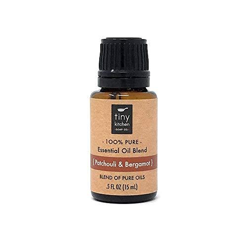 Patchouli and Bergamot - Blend of Pure Undiluted Essential Oils (15 mL / .5 fl oz)