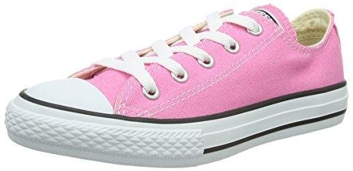 Converse Chuck Taylor All Star OX Shoe - Girls' Pink, 1.0