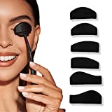 6 En 1 Kit de Línea de Pliegue de Sombra de Ojos, Silicona Con Forma de Fijador de Sombras de Ojos Perezosos, Kit de Línea de Pliegue, Sello Portátil Con Sello de Pliegue Cortado Para Sombras
