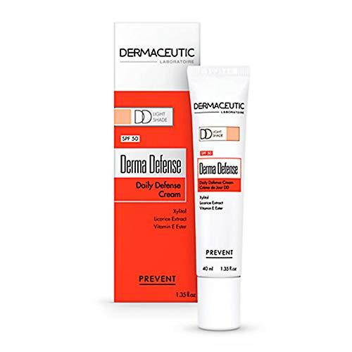 Dermaceutic Derma Defense LSF 50 Creme leichte Tönung - Getönte Tagescreme - Feuchtigkeitsspendende Daily Defense (DD)-Creme für maximalen Schutz und ein verbessertes...