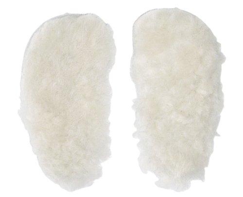 Anna und Paul Krabbelschuhe Lammfellsohle für warme Füße - gewachstes Lammfell (M - 20/21)