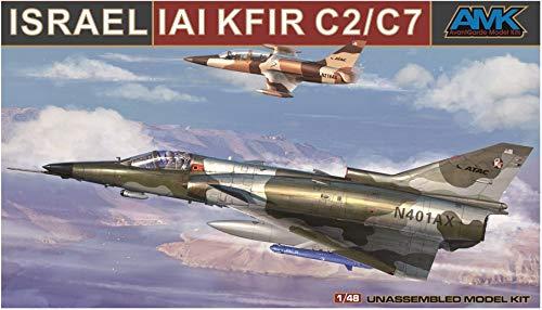 AMK88001-A 1:48 AMK Israel IAI Kfir C2/C7 [MODEL BUILDING KIT]