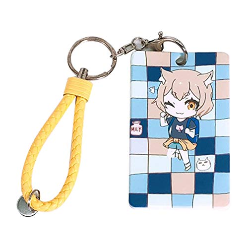 Peoria Re: Zero Starting Life in Another World Card Holder, Anime ID Card Badge Holder for Men and Women(Felix Argyle)