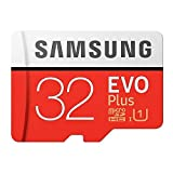 Samsung 32GB EVO Plus Class 10 Micro SDHC with Adapter (MB-MC32GA/AM)