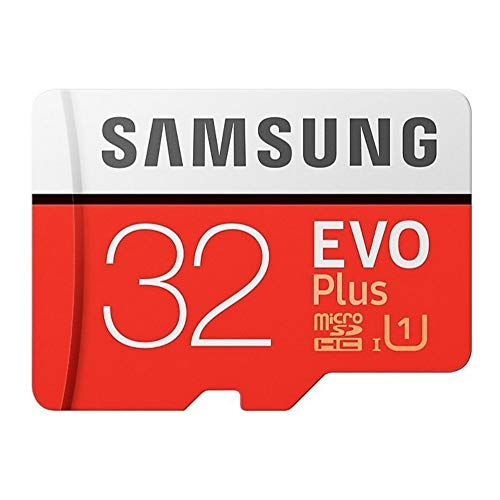 Samsung EVO Plus 32GB microSDHC UHS-I U1 95MB/s Full HD Speicherkarte mit Adapter (MB-MC32GA)