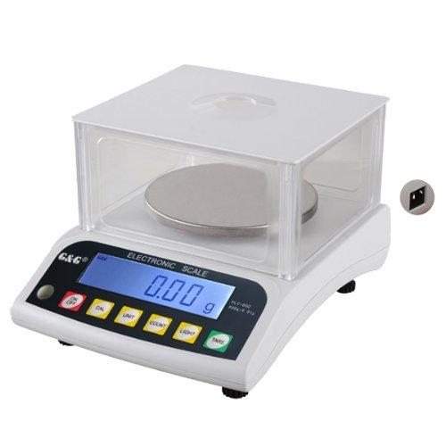 G&G - Báscula de precisión - Peso máximo: 600 g / Granularidad: 0,01 g
