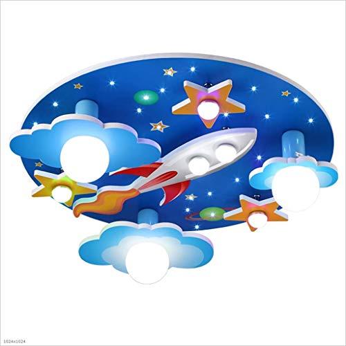 CNMKLM Universo Stelle Stanza dei Bambini Lampada da soffitto con LED a Luce Bianca Lampada Bedroom Ambiente per Ragazzi e Ragazze Cartoon 610 * 610 * 190mm