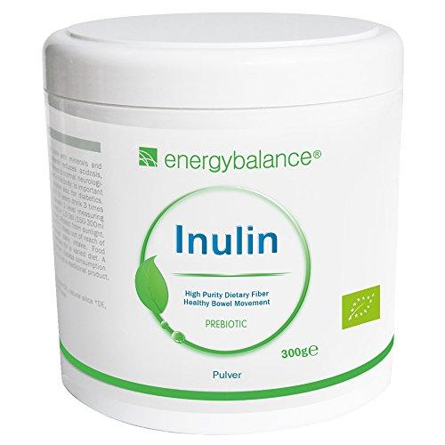 Inulina Organica in polvere 300g | Florabiotic Agave Fibra | Purezza massima minima 90% Contenuto minimo di fibre | Fibra dietetica | Vegan | Senza glutine | Senza additivi | Senza OGM
