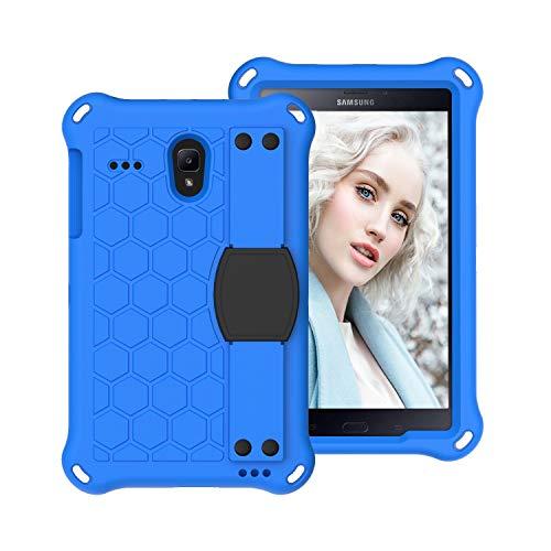 Tablet PC Bolsas Bandolera Para niños Funda para Samsung Galaxy Tab A 8.0 T387 Funda, TAB A 2017 T385 T380 Case, para TAB E T377 T375 Tab 4 T330 Funda Tableta a prueba de choques EVA cubierta con corr
