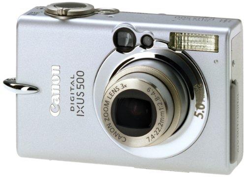 Canon Digital IXUS 500 Digitalkamera (5 MP)