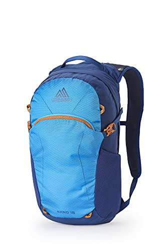Gregory Mountain Products Nano 18 Everyday Outdoor Backpack, Cobalt Blue