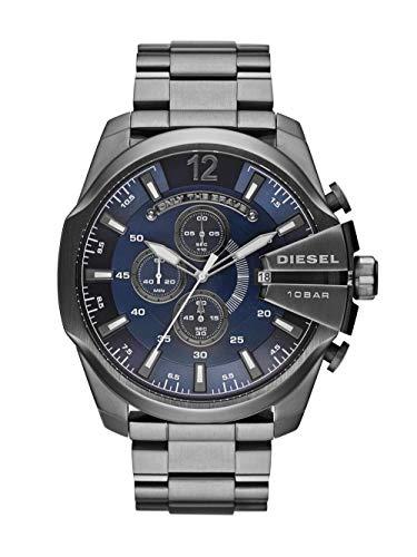 DIESEL Mega Chief DZ4329 Cronógrafo para Hombres Momento Estelar de Diseño