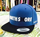 【ブルー×ブラック】o。【新作入荷!!】SURF-N-SEA(サーフアンドシー)Hurley(ハーレー)コラボ ハワイアンキャップ 帽子 SNAPBACK 【NORTH SHORE】【ハワイアン小物】*ハワイ直輸入*。