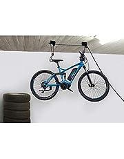 fischer 50387 Soporte para bicicleta, Negro, 57 kg