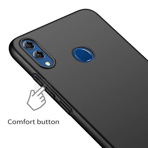 حافطة هاتف هواوي اونر 8 اكس من موفي، غطاء قوي ورفيع مصنوع من البولي كربونات