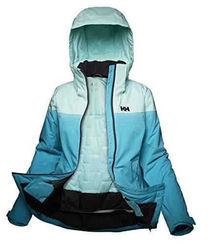 Helly-Hansen Women's Motionista LIFALOFT Jacket, 511 Scuba Blue, Medium
