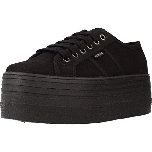 Victoria, VIC 105106, Bambas Color Negro para Mujer