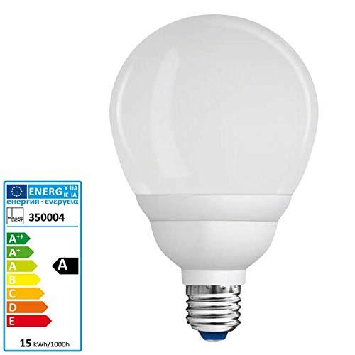 bester Test von riese muller delite Müller Licht GlobeR90E27 Energiesparlampe 15W 2700 Kelvin 820 Lumen 10.000 Stunden