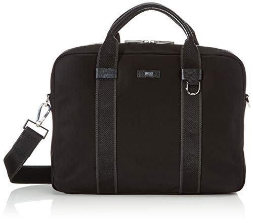 BOSS Herren Meridian_s Doc 19sr Business Tasche Schwarz (Black)