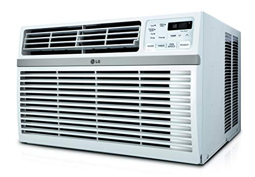 LG Energy Star Rated 8,200 BTU Window Air Conditioner, 8000, White