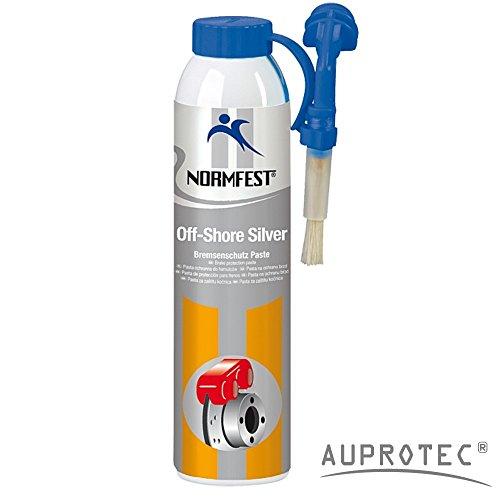Auprotec® Normfest Bremsen Schutz Paste Bremsen Montagepaste Off Shore Silver Bremsenfett 200ml Dose