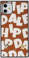 イングレム iPhone 11 ケース, カバー ディズニー 耐衝撃 ストラップ ホール付き ハイブリッドケース KAKU チップ&デール/I AM IQ-DP21K3TB/CD002