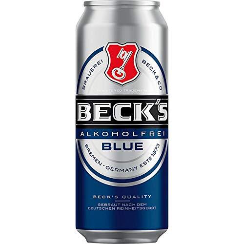 2 x 24 x Becks Blue Alkoholfrei Dosen 0,5 L <0,5% vol,alc. inklusive Pfand - EINWEG-Copy