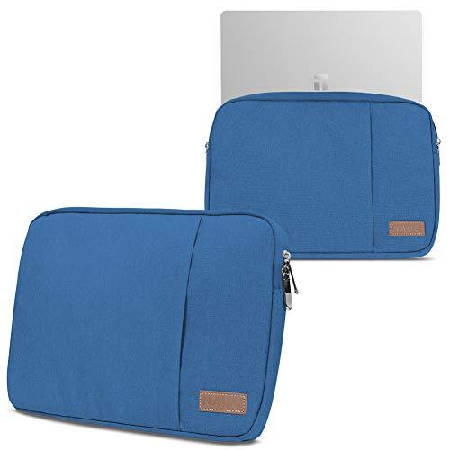 NAUC Notebook Tasche kompatibel für Trekstor Surfbook A13B Hülle in Schwarz Blau oder Grau Laptop Schutzhülle Case Cover Etui, Farbe:Blau