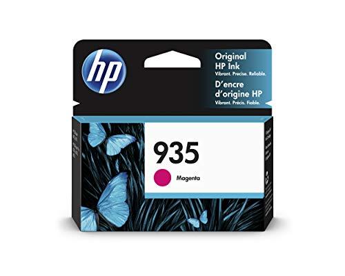 HP 935 C2P21AE, Magenta, Cartucho Original de Tinta, compatible con impresoras de inyección de tinta HP OfficeJet 6820; HP OfficeJet Pro 6230, 6830